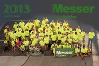 Messer Construction Heart Walk-corporate philanthropy